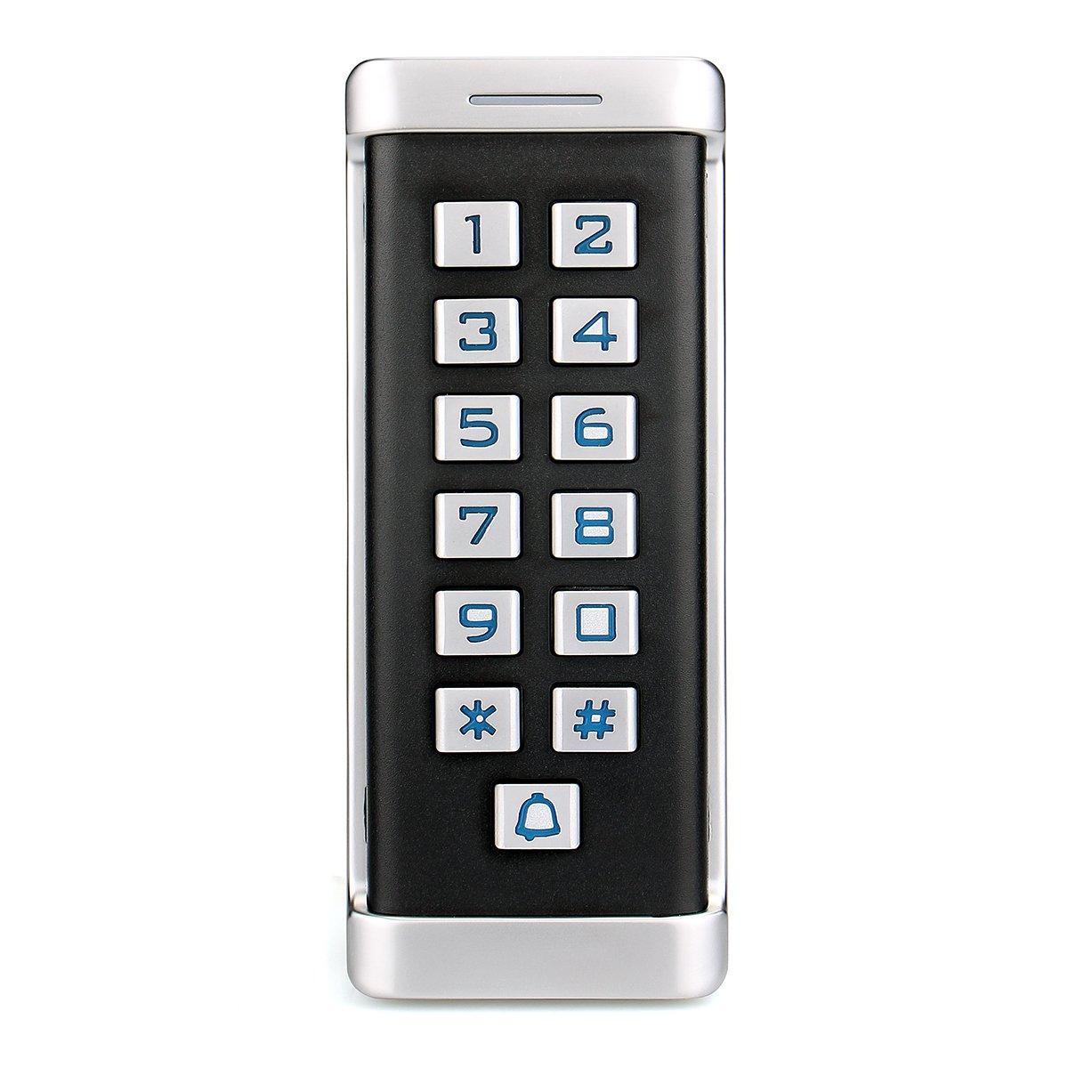 Retekess H1EM-W Access Control Keypad Door Access Control RFID Access Control Standalone Keypad IP68 Waterproof Wiegand 26-bit 2000 Users Single Door by Retekess
