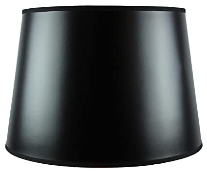 13x16x11 black parchment gold lined floor lampshade with brass 13x16x11 black parchment gold lined floor lampshade with brass spider fitter by home concept aloadofball Image collections
