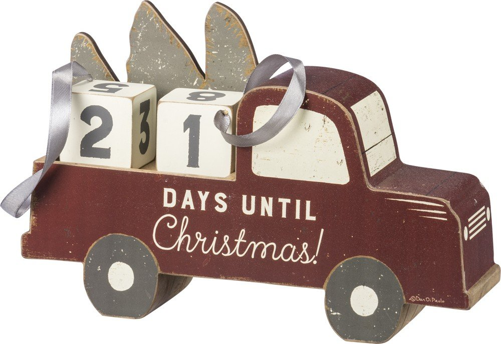 Primitives by Kathy Countdown Block - Days Until Christmas 39900