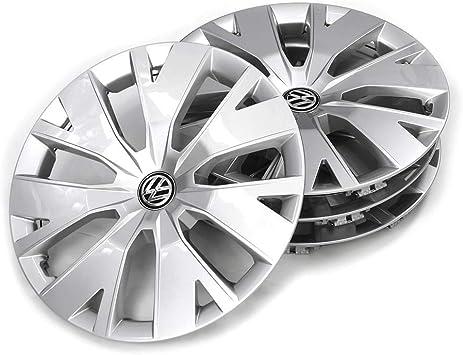 Volkswagen 2gm071456 Radkappen Radzierblenden 4 Stück Stahlfelgen 16 Zoll Brillantsilber Auto