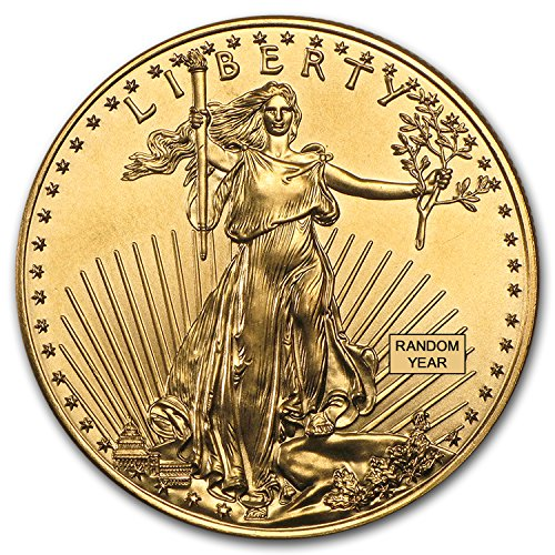 1986 - Present 1 oz Gold American Eagle BU (Random Year) 1 OZ Brilliant -