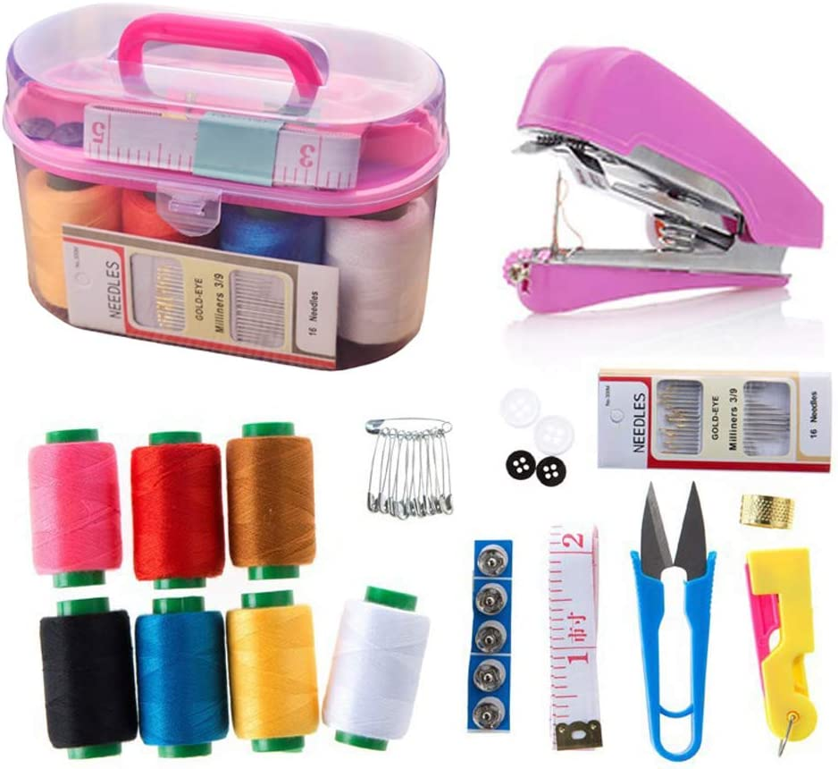 10 PCS Msleep Sewing Kits for Home Sewing Kit Accesorios Basic Professional Sewing Needles and Thread 10 unidades