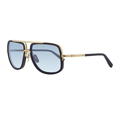 16abcdc92c3 Amazon.com  Dita Mach One Sunglasses DRX 2030H Navy 18K Gold Frame ...