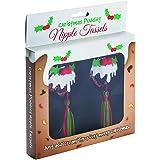 Christmas Pudding Nipple Tassles Funny Sexy Secret Santa Gift