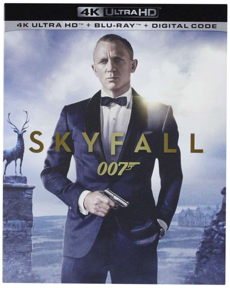 Casino Royale, Skyfall & Spectre Dropped To Under $15 On 4K UHD