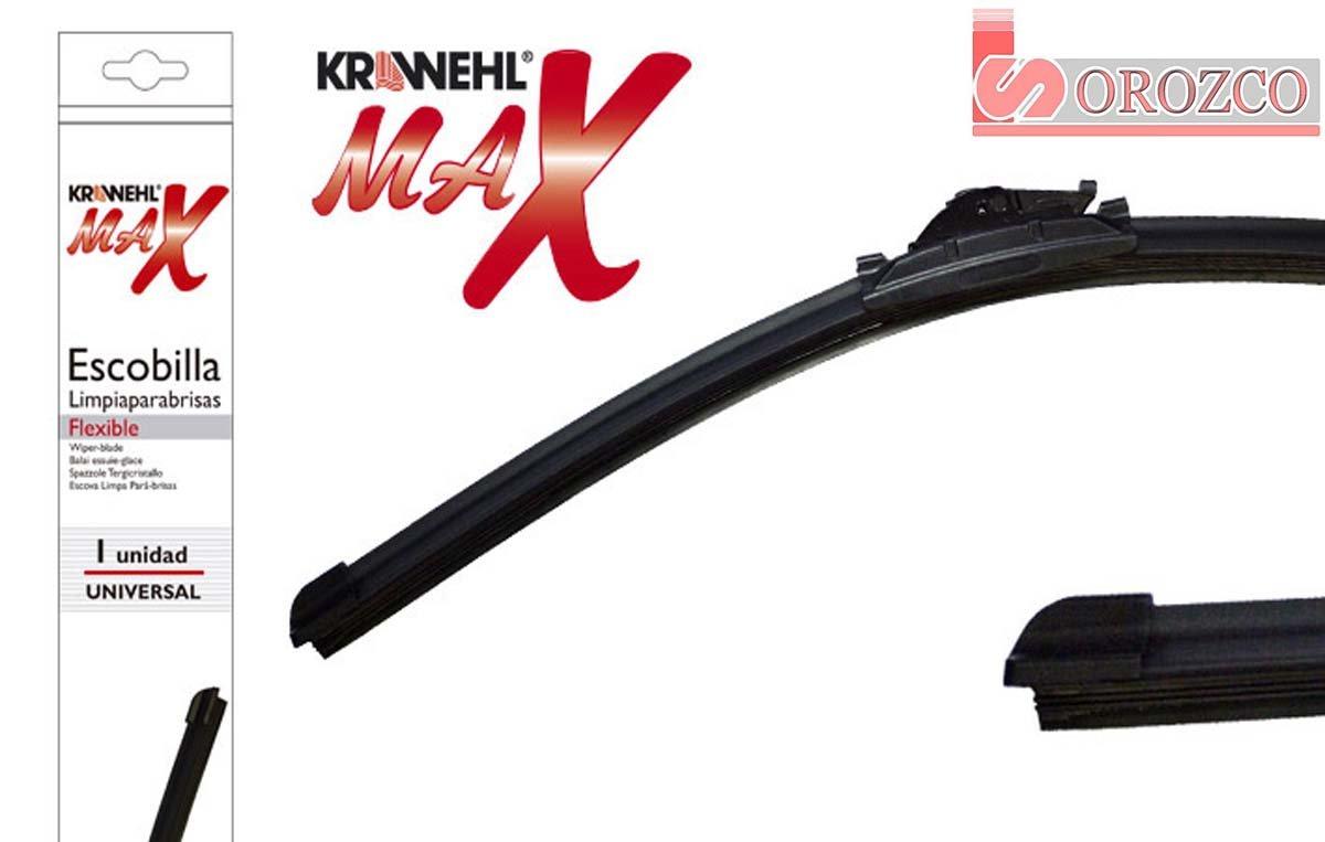 55 cm. 22 Escobilla limpiaparabrisas KRAWEHL MAX FLEX con adaptadores