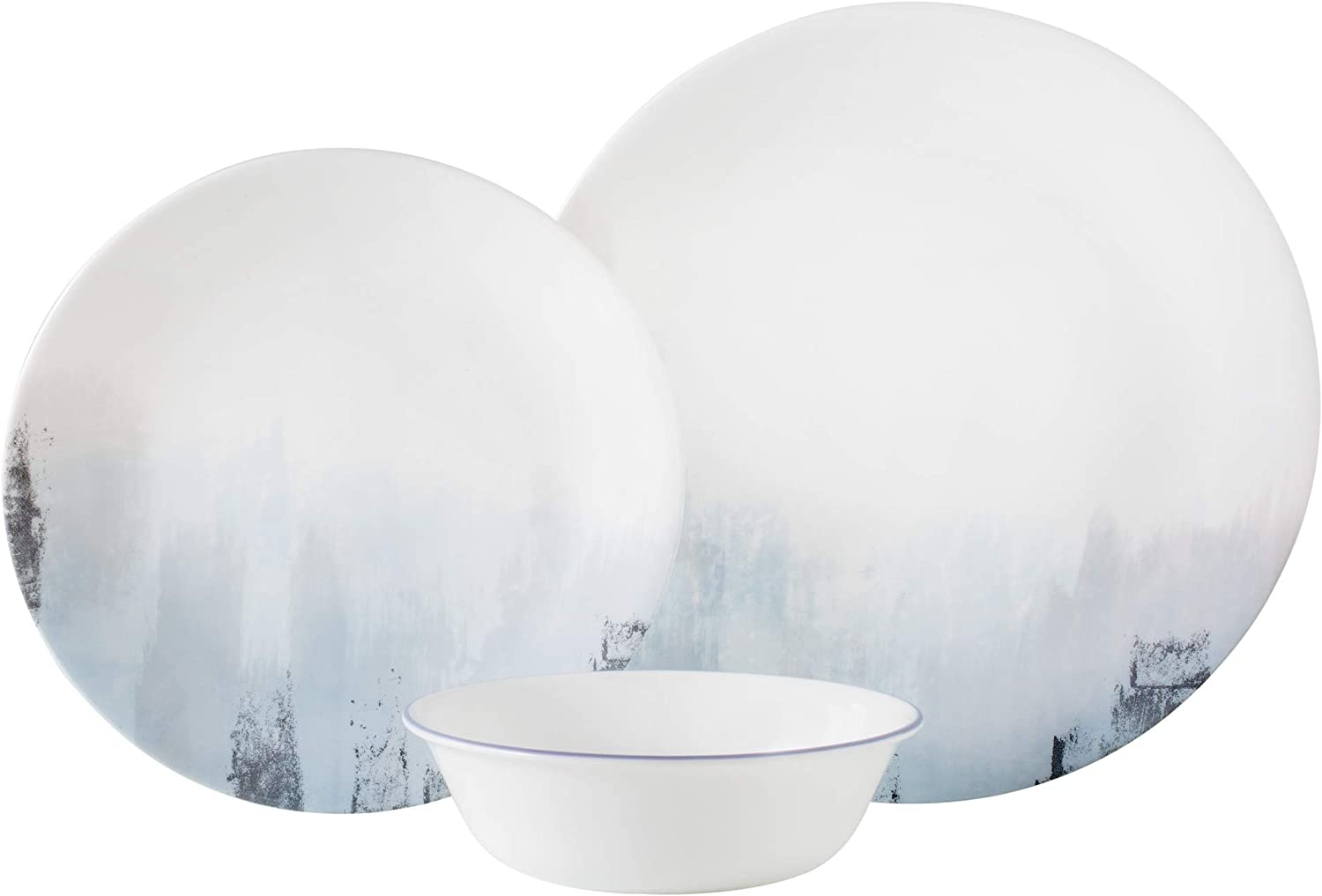 Corelle Boutique Tranquil Reflections 12-Piece Dinnerware Set, Service for 4