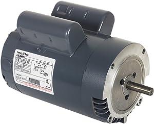 Century V106 Cap Start C-Face, 145TC Frame, 2-HP, 1725-RPM, 115/208-230-Volt, 20.4-Amp, Ball Bearing Motor