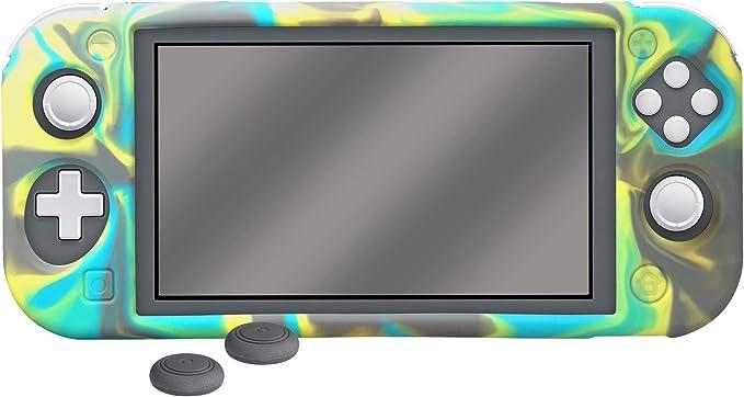 Ardistel - Blackfire Silicone Sleeve Gamer Kit. Silicone + Thumbs para Switch Lite (Nintendo Switch): Amazon.es: Videojuegos