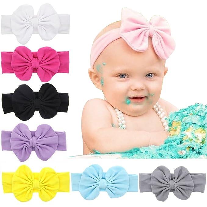 8f13cf5bb Flyfish Niña de Diademas, 8-PackNiño del bebé Headwear Accesorios ...
