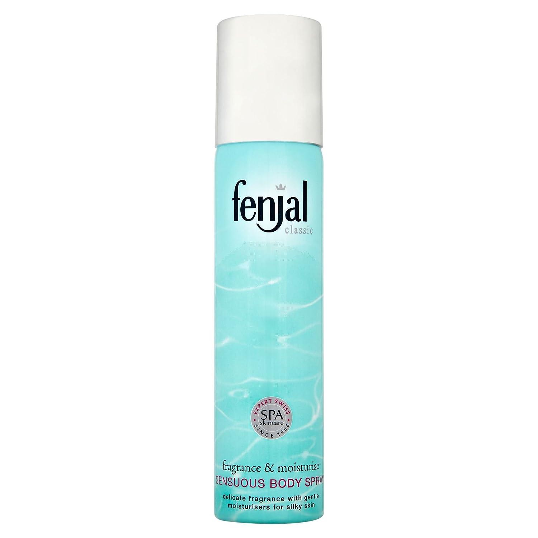 6 x Fenjal Classic Sensuous Body Spray 75ml Unilever