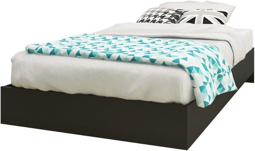 Nexera Platform Bed, Twin, Black