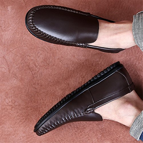 Slip Mocasines Y Otoño Hombres ons De Cuero Comfort Conducción Primavera Caminar Un Para Zapatos xYTCwq8a