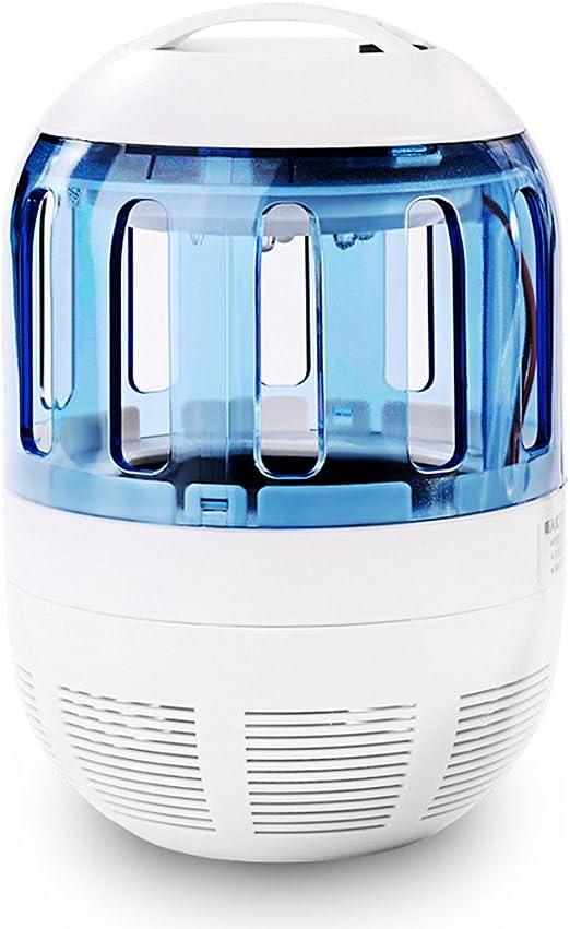 Lámpara Antimosquitos USB Fochea LED UV Lámpara Eléctrico Trampa del Mosquito del Insecto Exterior No Tóxicos 360°Malla Prueba de Escape Bug Zapper Anti-insectos la Sala Jardín Lámpara del Insecto Asesina: Amazon.es: Jardín