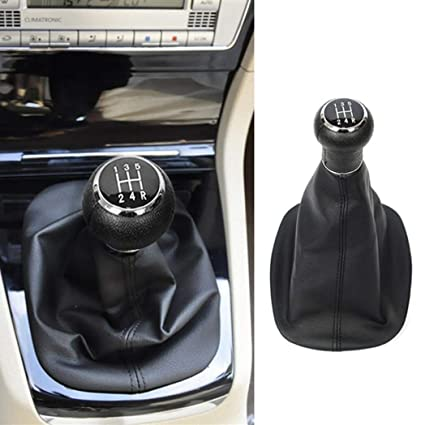 GEAR STICK GAITER BLACK LEATHER