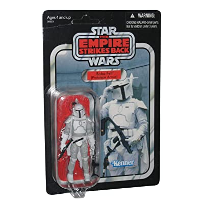 Star Wars Vintage Collection Boba Fett Prototype Armor Mail Away Exclusive Figure: Toys & Games