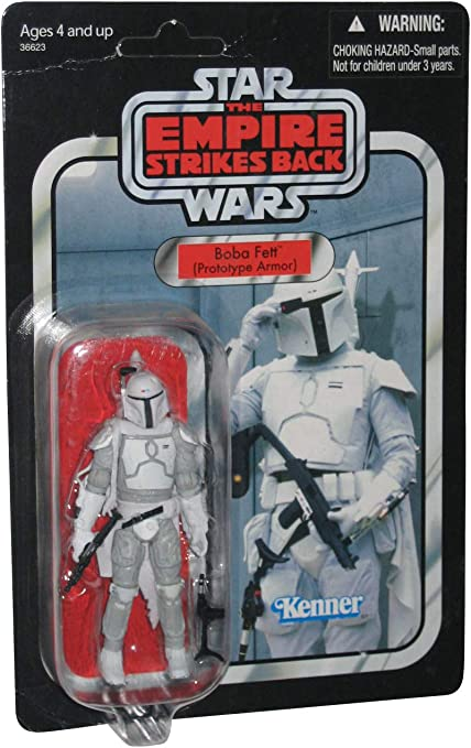 "Star Wars The Empire Strikes Back BOBA FETT Armor Up 3.75/"" inch bounty hunter"