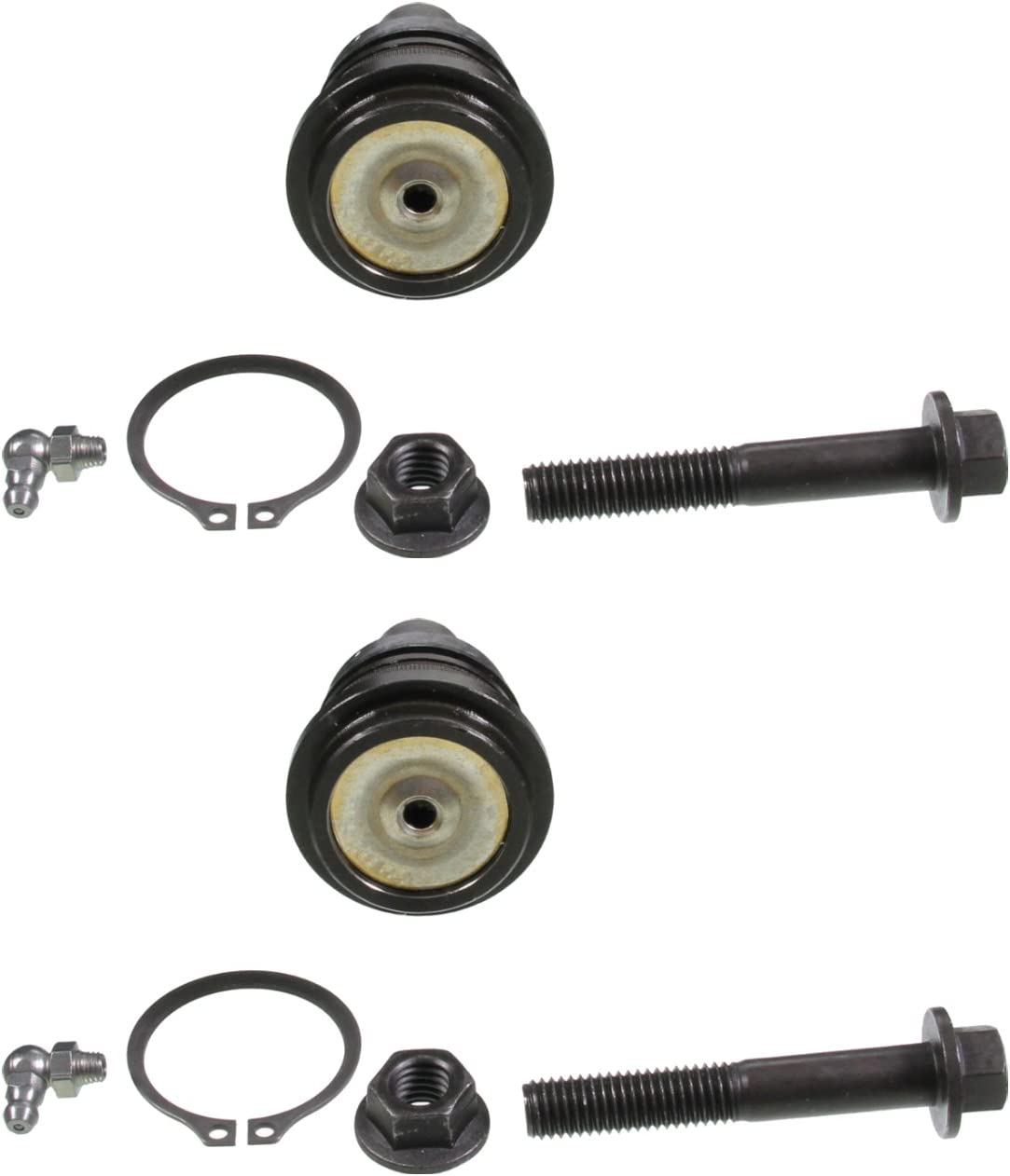Set of 2 Front Lower Suspension Ball Joint fits 2007 Hyundai Accent