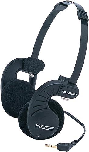 Koss SportaPro Stereo Headphones, Standard Packaging