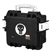 Punisher 3 Slot Black Impact Dive/Collector Case