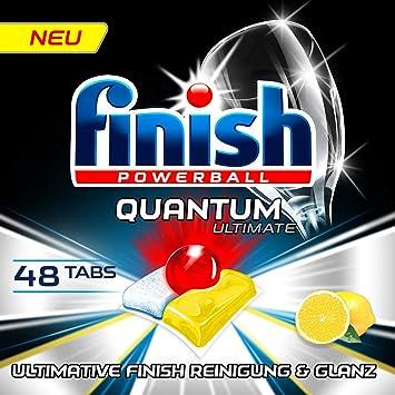 Finish Quantum Ultimate XXL Pack - Pastillas para lavavajillas (48 ...