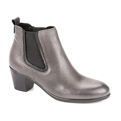 85cf1d672 Pavers Leather Ankle Boot 308 746 - Grey Size 5 (38): Amazon.co.uk ...