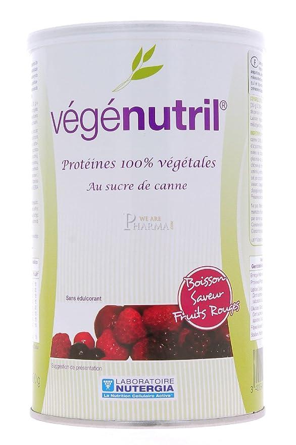 Nutergia Vegenutril Frutas Complemento Alimenticio - 300 gr: Amazon.es: Salud y cuidado personal