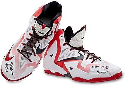 Inscribed Game-Used Nike LeBron 11