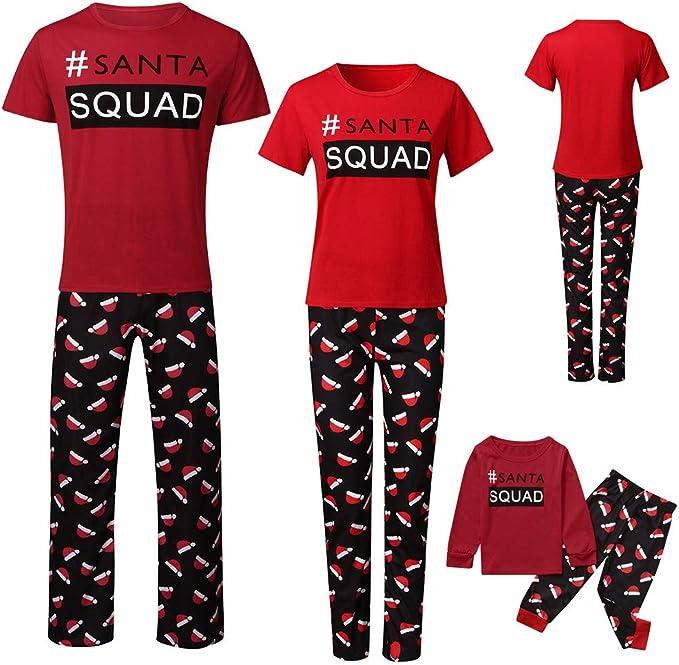 K-Youth Pijamas Familiares Navideñas Ropa para Padres e Hijos ...