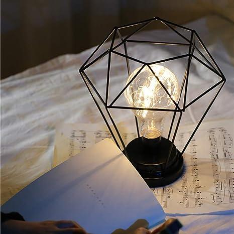 qulista lámpara de noche luminosa estilo nortique luz ...
