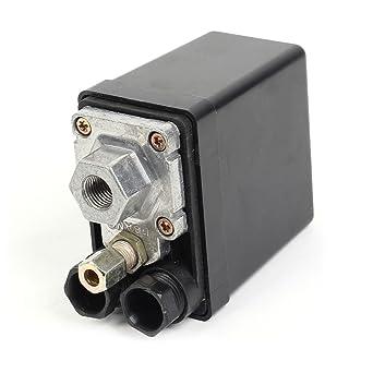 Compresor de aire Interruptor de presión Válvula de control de CA 240V 15A 175PSI 1 puerto