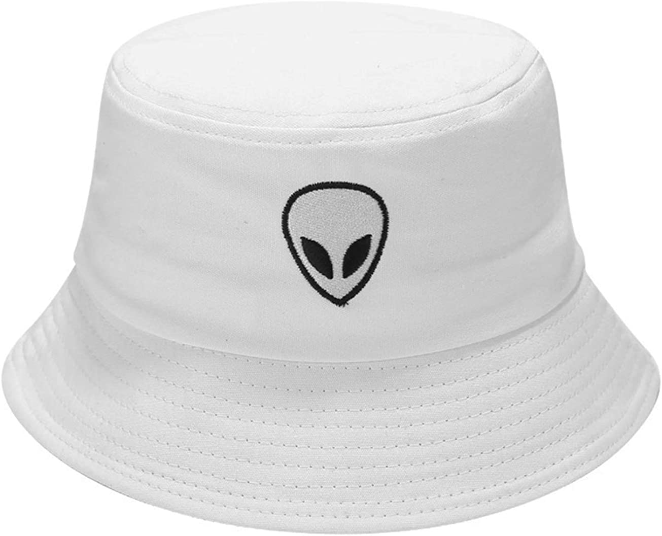 Alien Embroidered Bucket...
