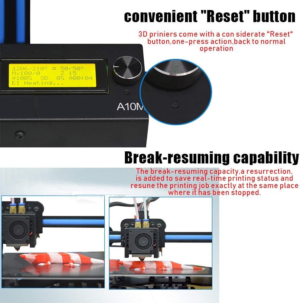 Impresora 3D,impresión en color mixto, sustrato de aluminio de ...