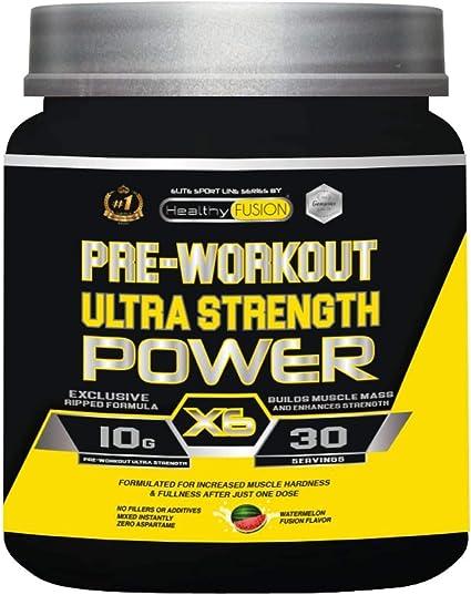 Pre-Entreno con Beta Alanina, L-Arginina AAKG, Creatina, Cafeína y Taurina   Incrementa el desarrollo Muscular   Estimula y mejora la resistencia ...