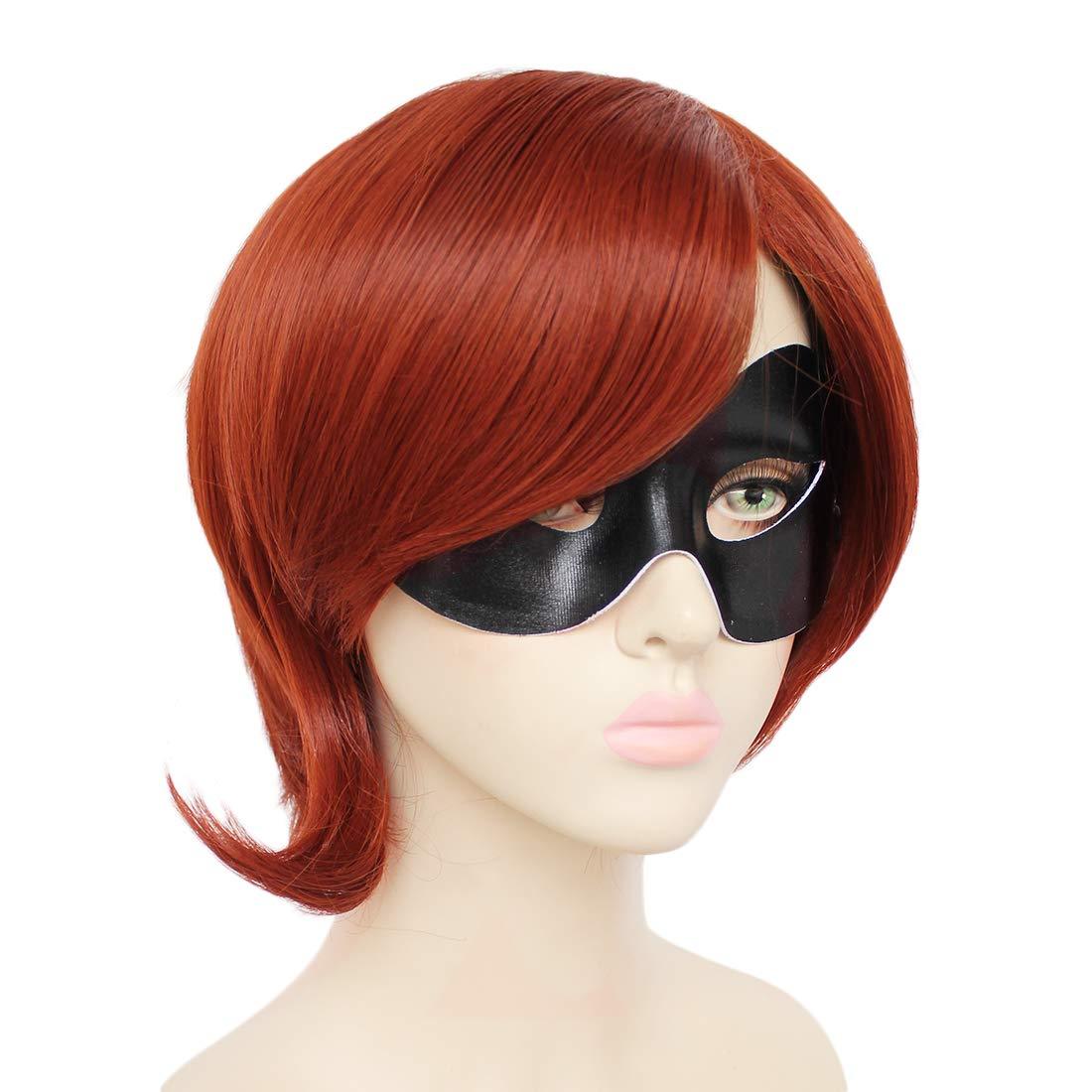 Amazon.com: JoneTing Peluca de Cosplay marrón peluca corta ...