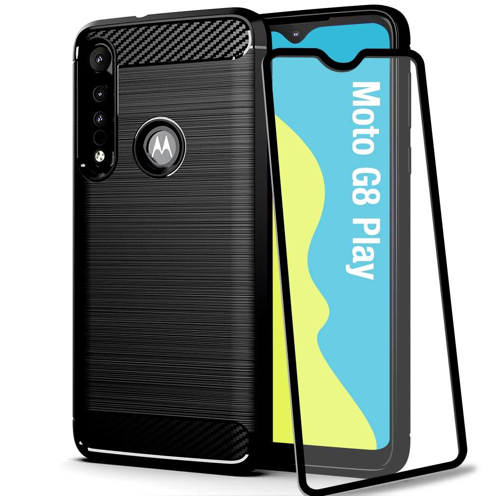 Funda + Vidrio Templado Motorola G8 Play/one Macro Bonkier