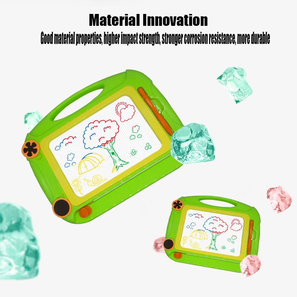 Magnetic Doodle Drawing Board for Kids 3-6 Yeats Birthday Gift Toy for 2-4 Years Old Travel Toy Educational Learning Writting Skill Development Creativity for Childrens Day.