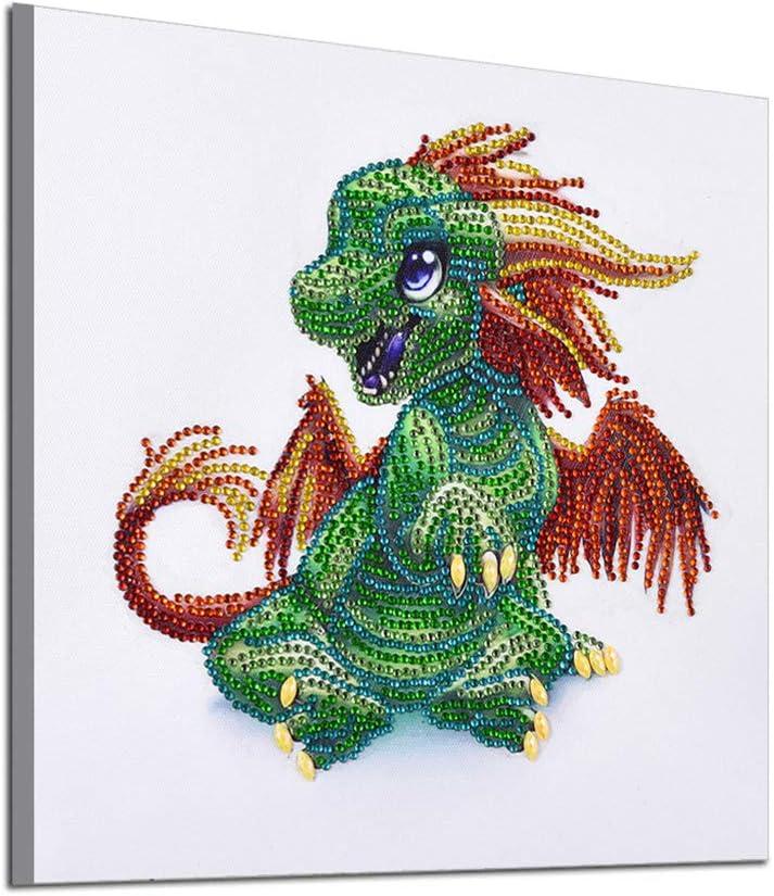 5D Diamant Broderie Dragon Diamond Painting Strass Kits D/écoration Salon Chambre 30X30cm Premier choix pour les d/ébutants