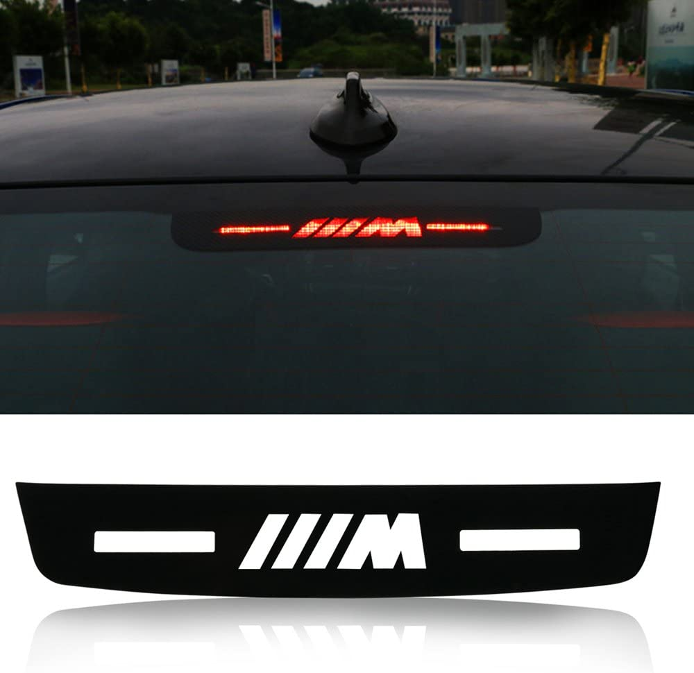 Rear Badge LED Background Light For BMW Car Tail Logo Emblem Sticker E46 E90 F30