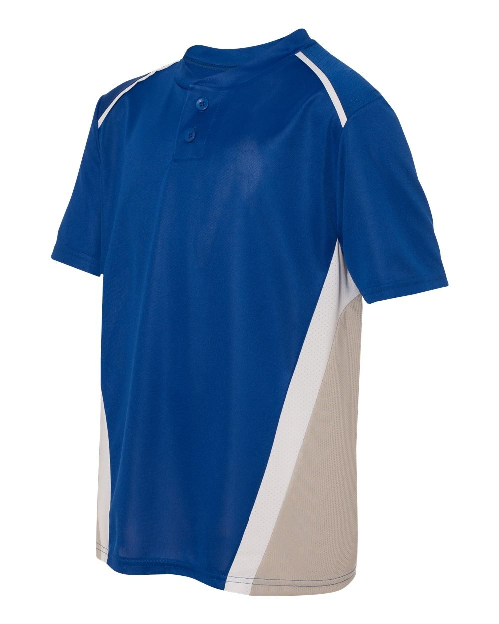 Augusta Sportswear Boys ' RBI野球ジャージー B00E1YUMLIRoyal/Silver Grey/White Small