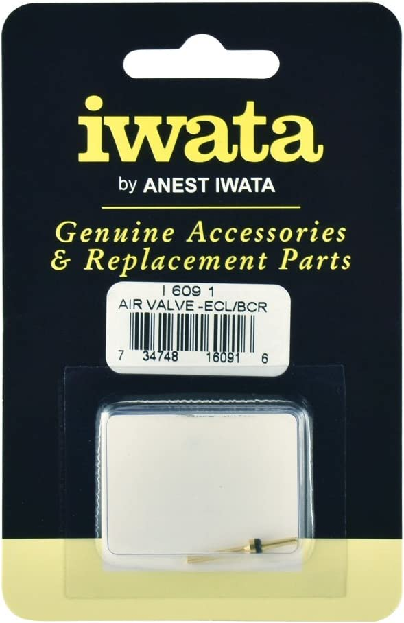 Iwata Replacement Air Valve, for Iwata Airbrush Models Eclipse and BCR, Genuine Part (I 609 1)