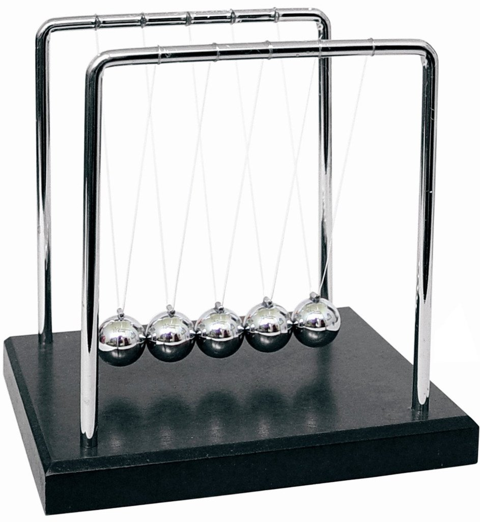 HevaKa Newtons Cradle Balance Balls - Art In Motion
