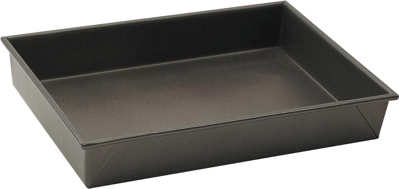 antihaftbeschichtet 33 x 22,9 cm WINCO Rechteckige Kuchenform aluminierter Stahl