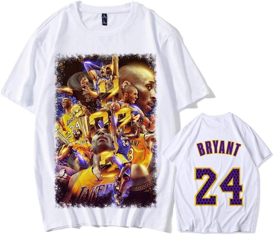 ZXPYZ Lakers Kobe Bryant Camiseta Conmemorativa No. 24, Ropa De ...