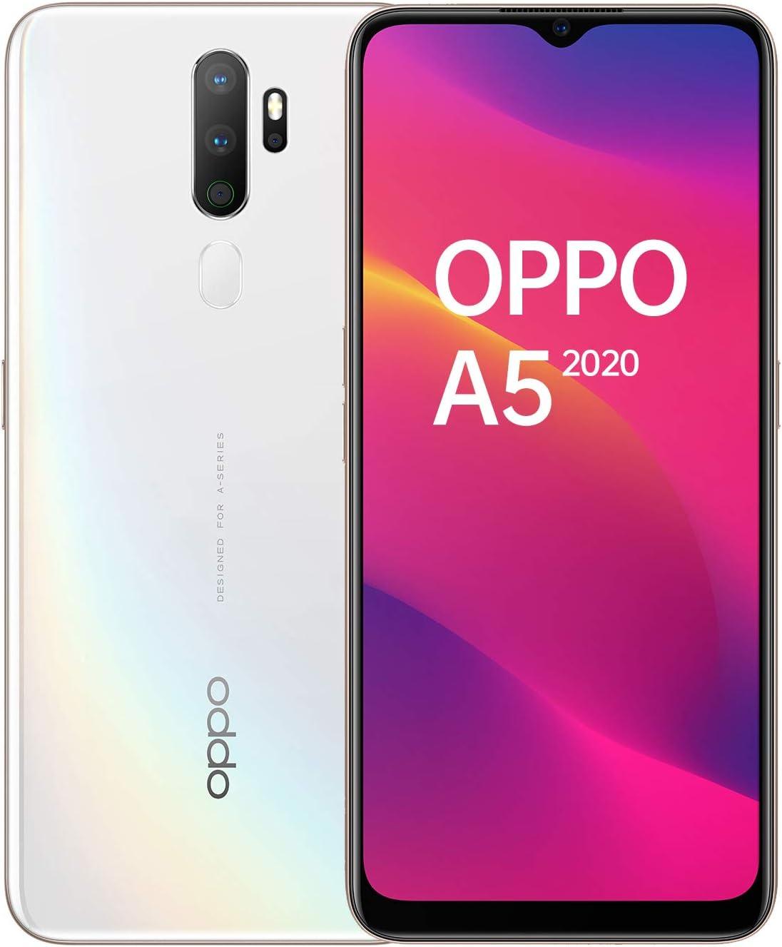 Oppo A5 - Smartphone (pantalla LCD de 6,5 pulgadas, 4 cámaras, 64 ...