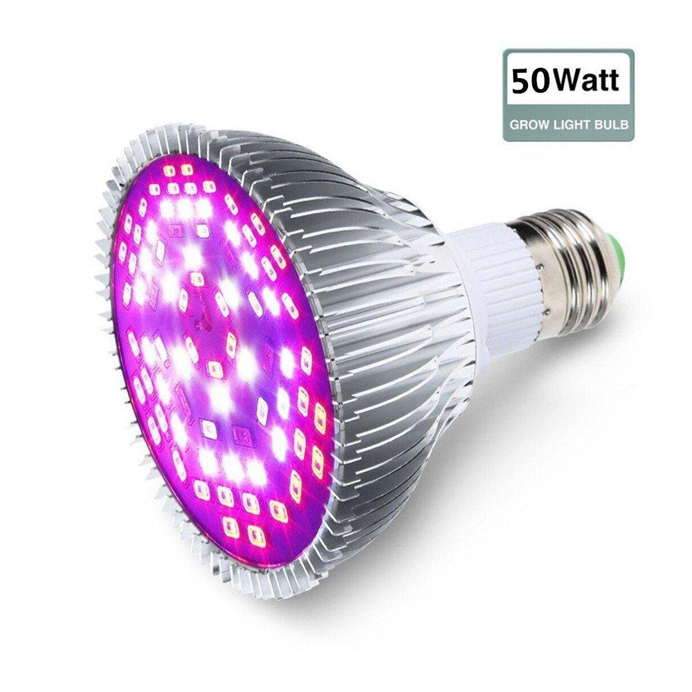 SOLMORE E27 80W P30 LED Pflanzenleuchte Pflanzenlampe Pflanzen ...