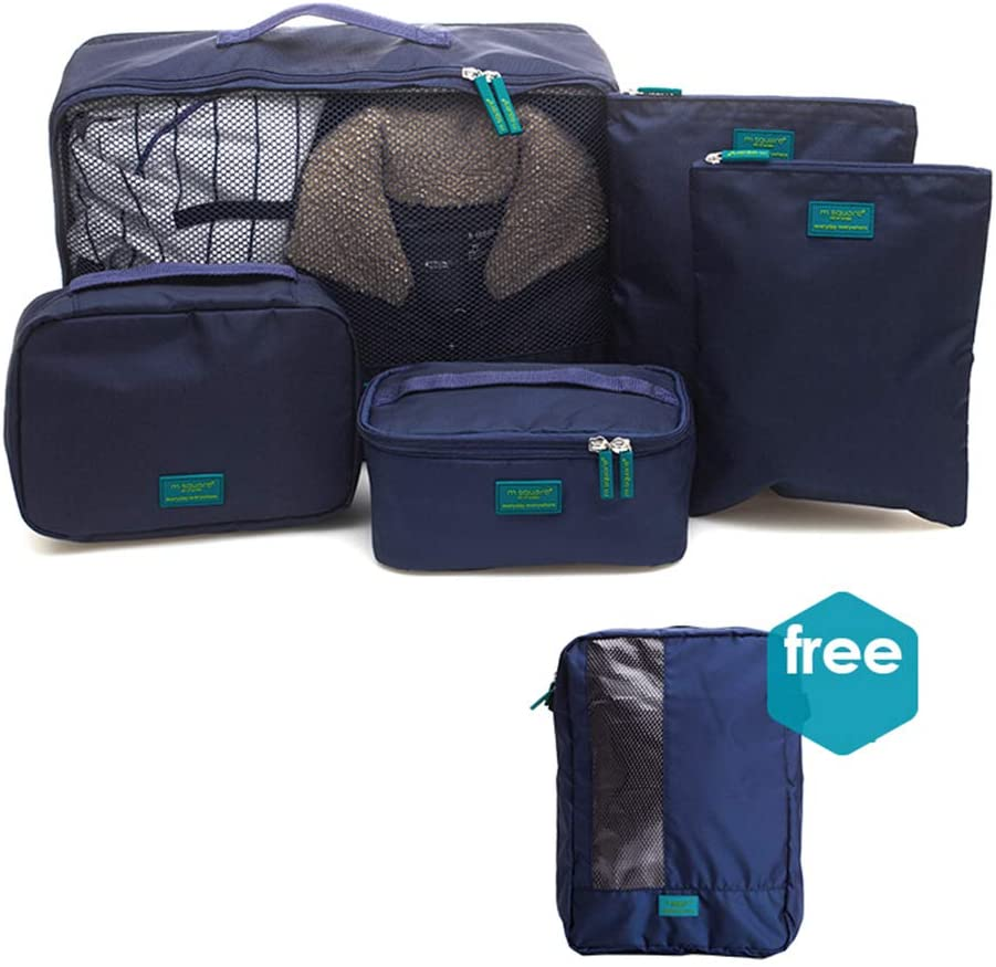 Sarazong Packing Cubes,Set of 5 Luggage Organisers,Suitcase Storage Bags,Packing Cubes Travel