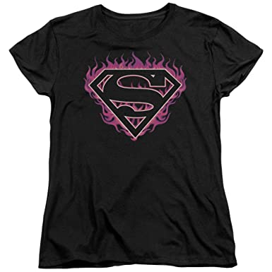 DC Comics Superman Wonder Woman Women/'s T-Shirt Tee
