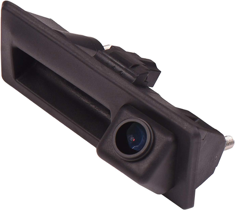 170 Hd Kamera 1280x720p Wasserdicht Nachtsicht Hilfslinien Heckklappe Rückfahrkamera Distanzlinien Umschaltbar Für Audi A4 B8 A5