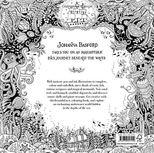 Lost Ocean An Inky Adventure Amp Colouring Book At Shop Ireland
